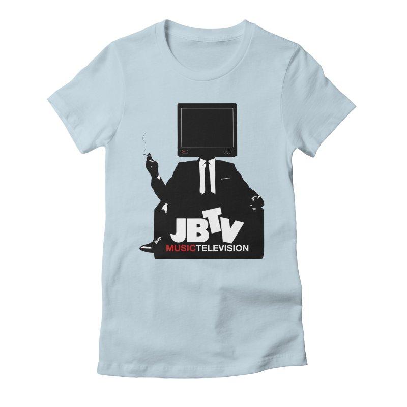 MAD FOR JBTV Women's Fitted T-Shirt by JBTV's Artist Shop