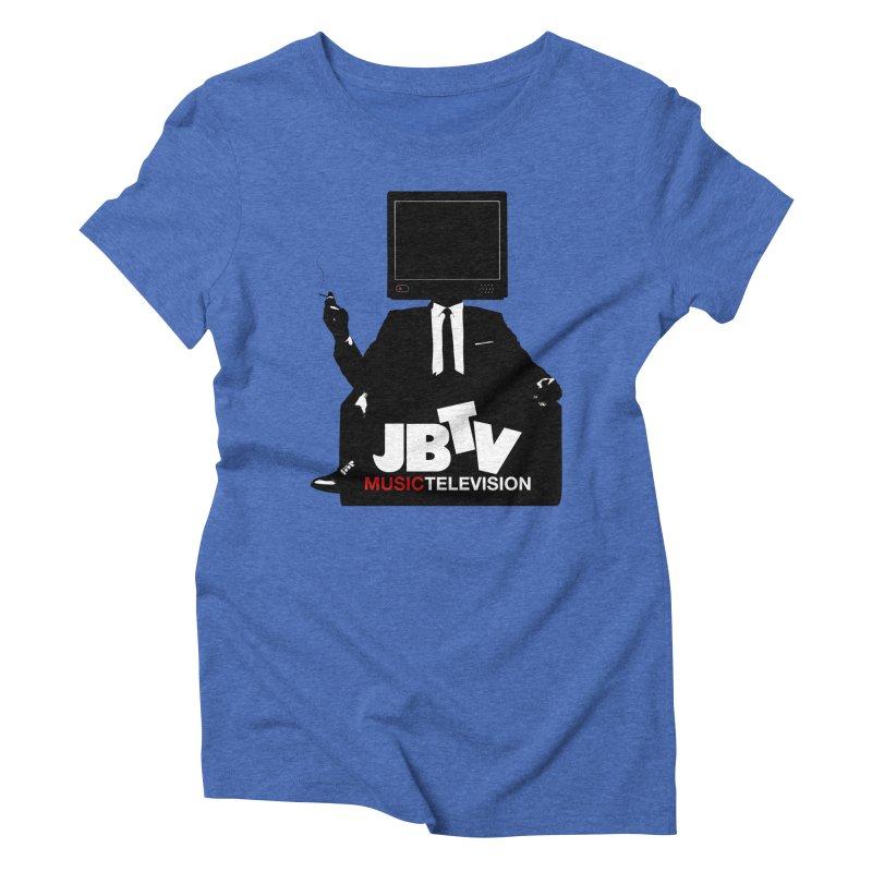 MAD FOR JBTV Women's Triblend T-Shirt by JBTV