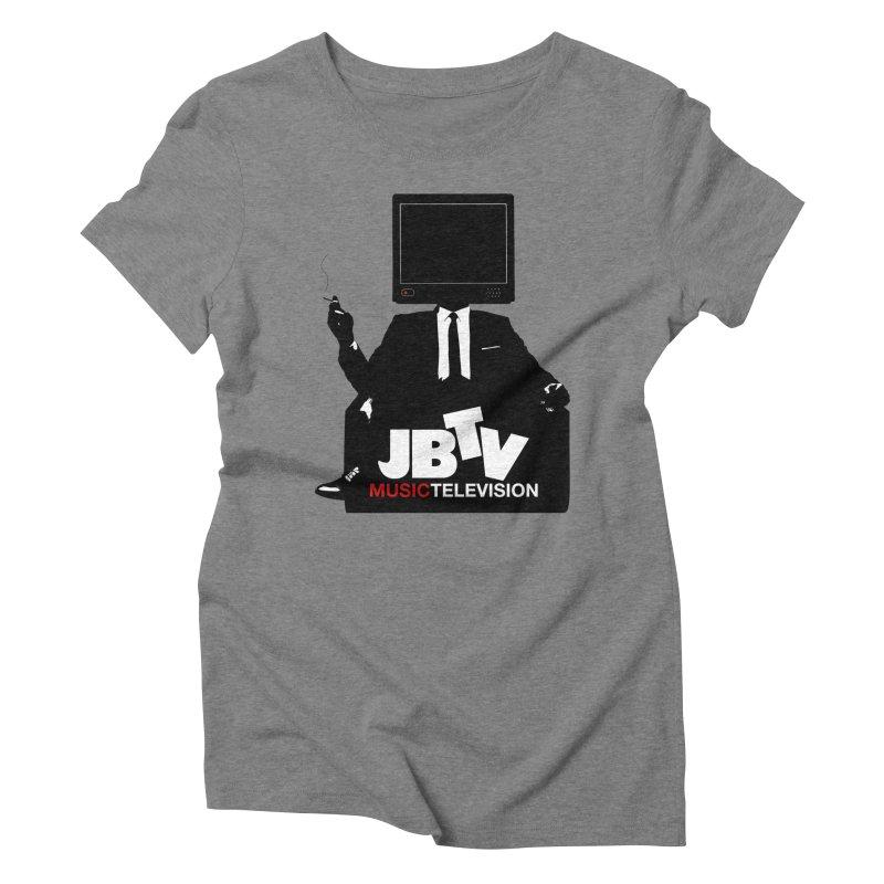 MAD FOR JBTV Women's Triblend T-Shirt by JBTV's Artist Shop