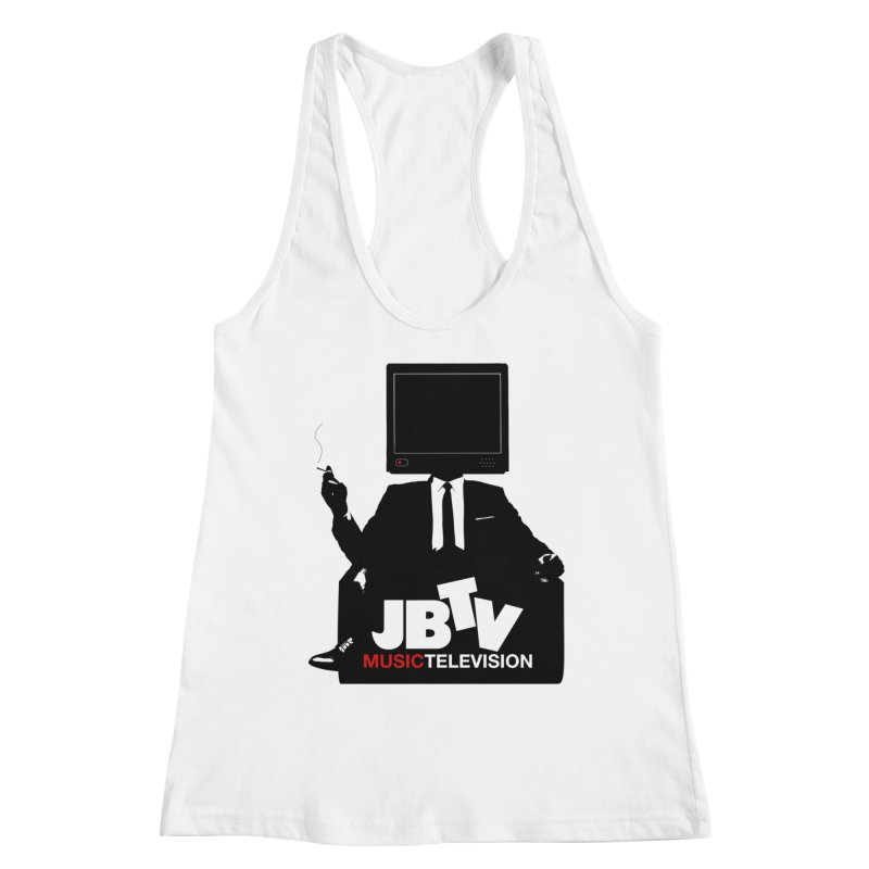MAD FOR JBTV Women's Racerback Tank by JBTV