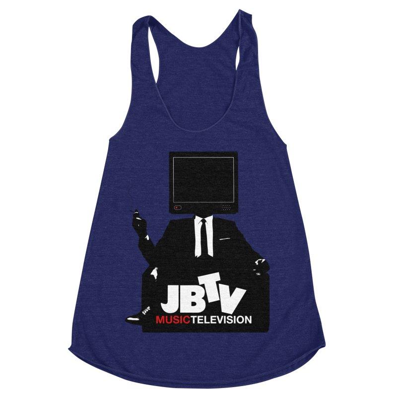 MAD FOR JBTV Women's Racerback Triblend Tank by JBTV