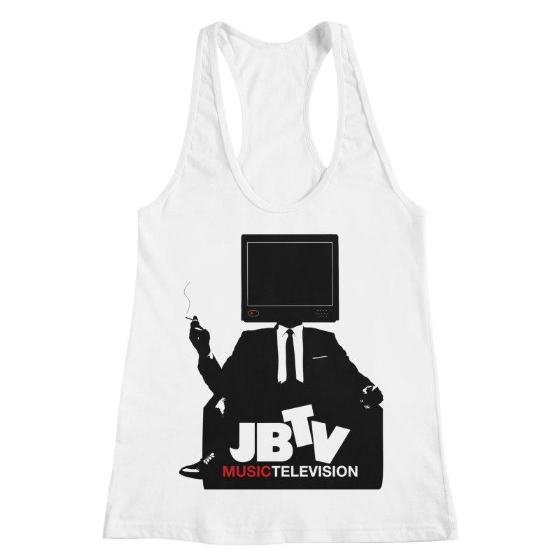 MAD FOR JBTV Women's Racerback Tank by JBTV