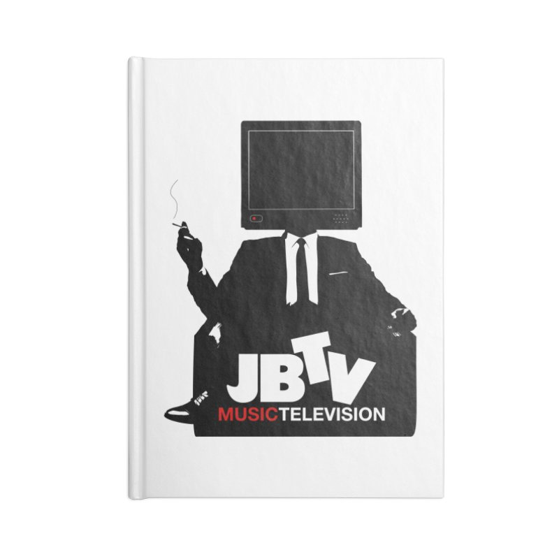 MAD FOR JBTV Accessories Lined Journal Notebook by JBTV