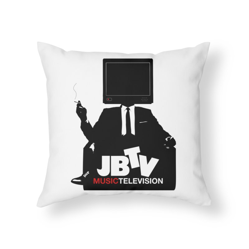 MAD FOR JBTV Home Throw Pillow by JBTV