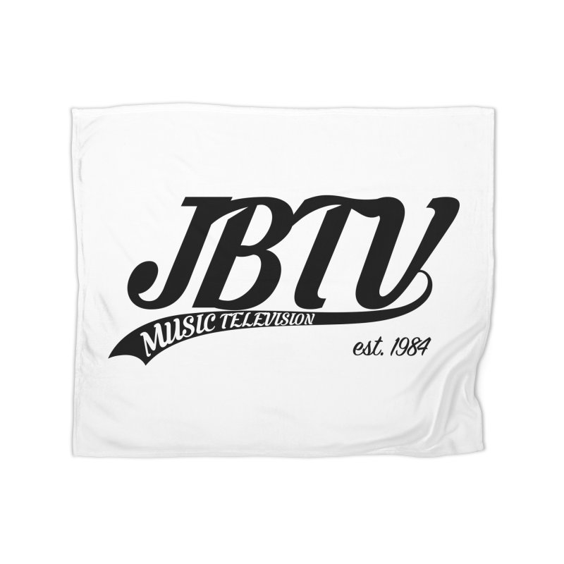 JBTV Retro Baseball Shirt Home Blanket by JBTV's Artist Shop