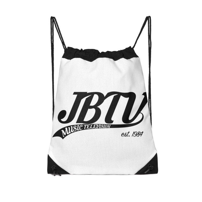JBTV Retro Baseball Shirt Accessories Drawstring Bag Bag by JBTV