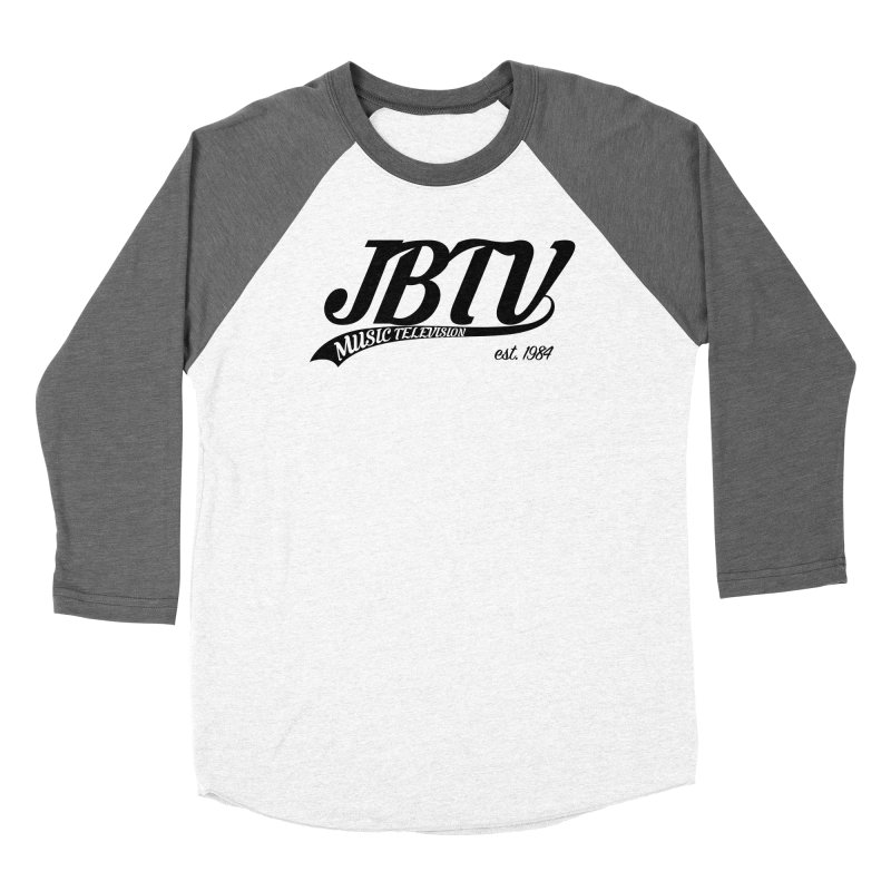 JBTV Retro Baseball Shirt Women's Longsleeve T-Shirt by JBTV