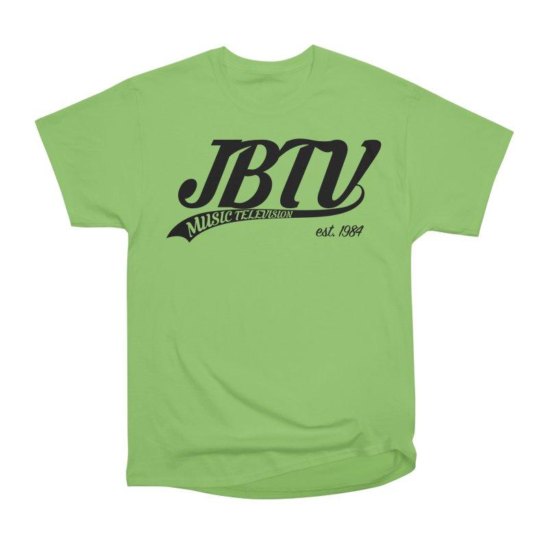 JBTV Retro Baseball Shirt Men's Heavyweight T-Shirt by JBTV