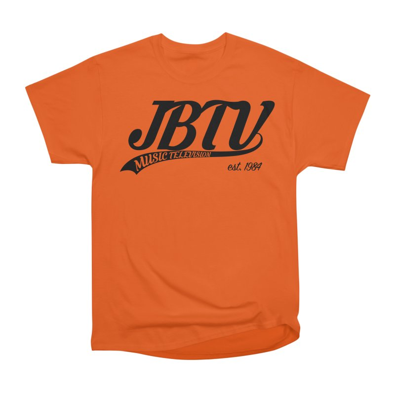 JBTV Retro Baseball Shirt Women's Heavyweight Unisex T-Shirt by JBTV