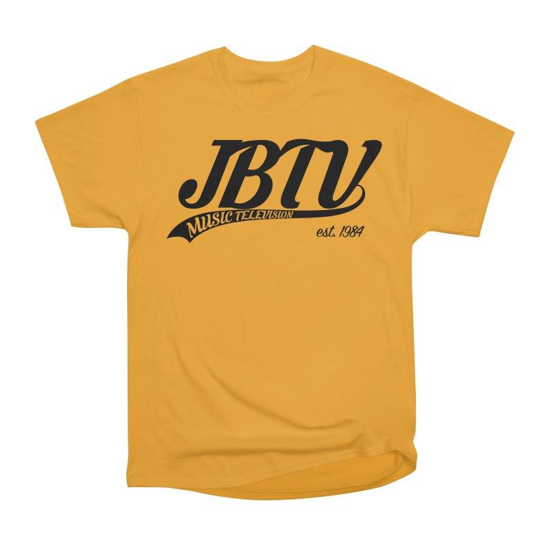 JBTV Retro Baseball Shirt Women's Heavyweight Unisex T-Shirt by JBTV's Artist Shop