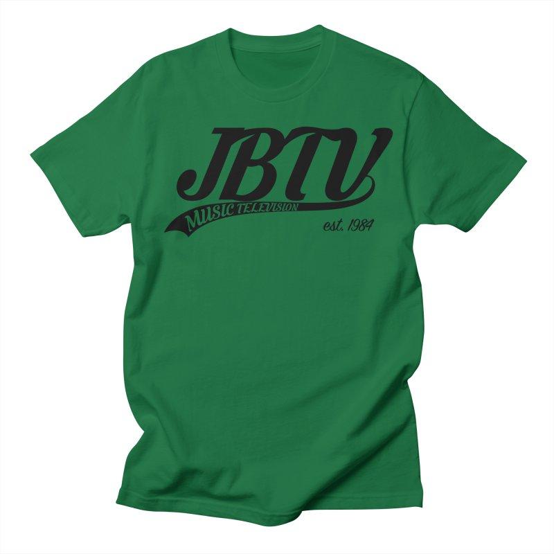 JBTV Retro Baseball Shirt Men's Regular T-Shirt by JBTV's Artist Shop