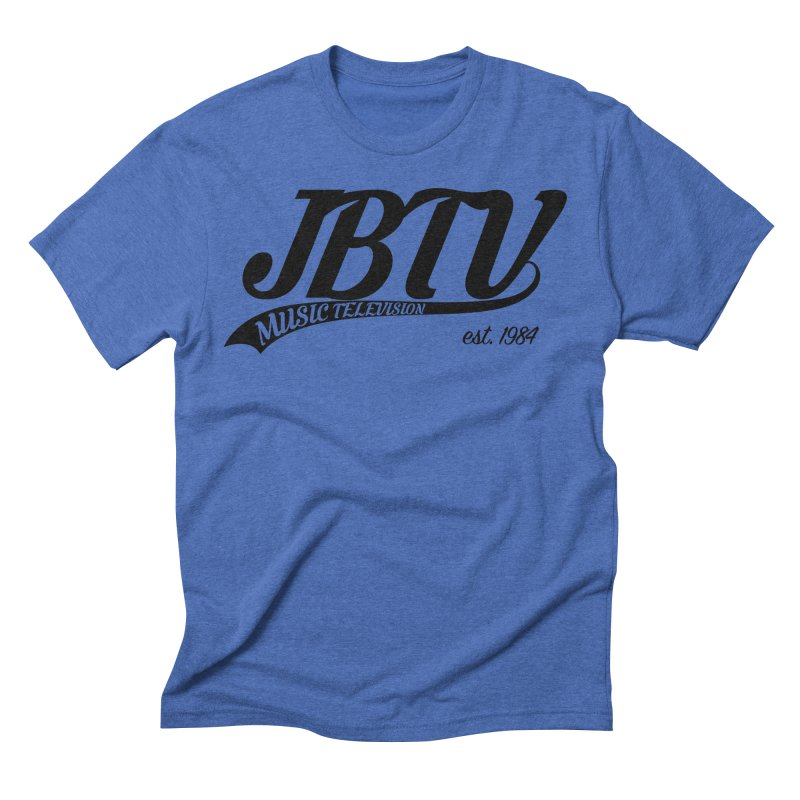 JBTV Retro Baseball Shirt Men's Triblend T-Shirt by JBTV's Artist Shop