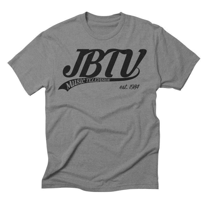 JBTV Retro Baseball Shirt Men's Triblend T-Shirt by JBTV's Artist Shop