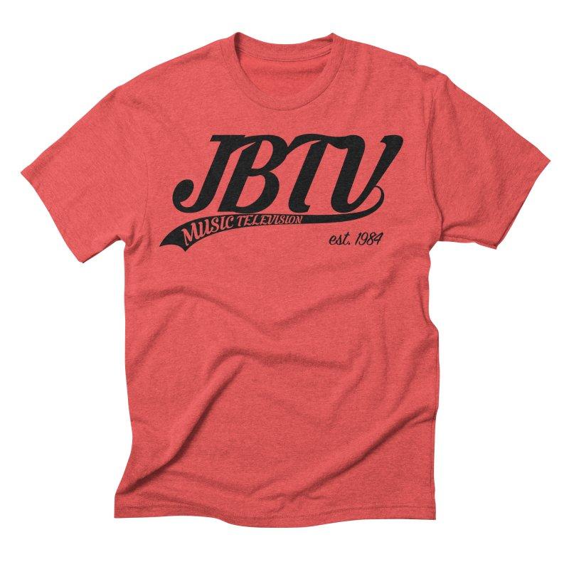 JBTV Retro Baseball Shirt Men's Triblend T-Shirt by JBTV