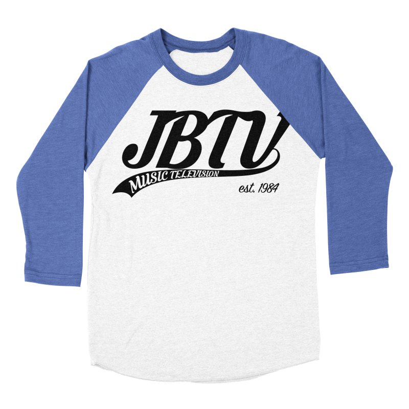 JBTV Retro Baseball Shirt Women's Baseball Triblend T-Shirt by JBTV's Artist Shop