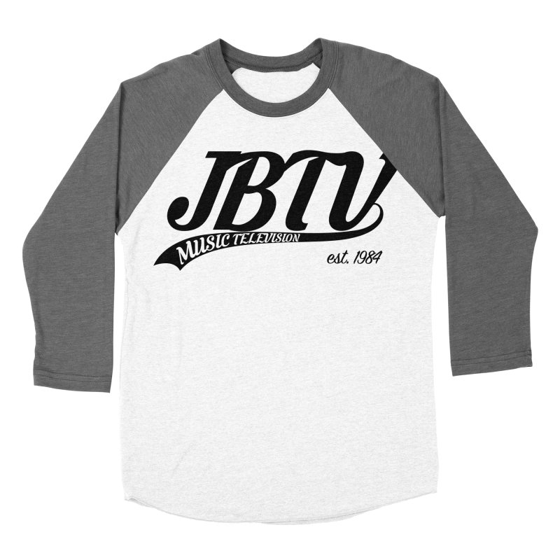 JBTV Retro Baseball Shirt Women's Baseball Triblend Longsleeve T-Shirt by JBTV's Artist Shop
