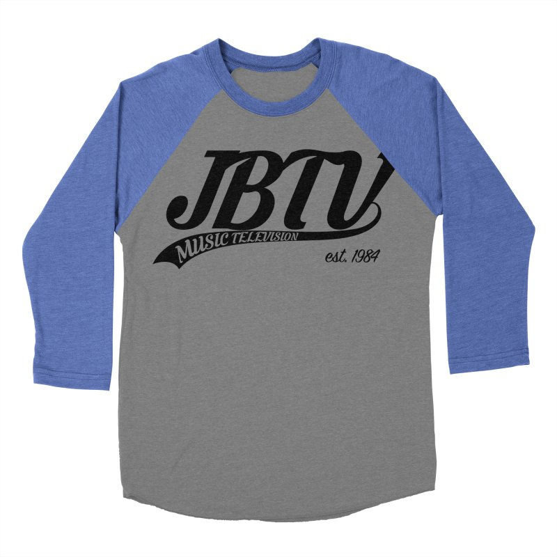 JBTV Retro Baseball Shirt Women's Baseball Triblend Longsleeve T-Shirt by JBTV's Artist Shop