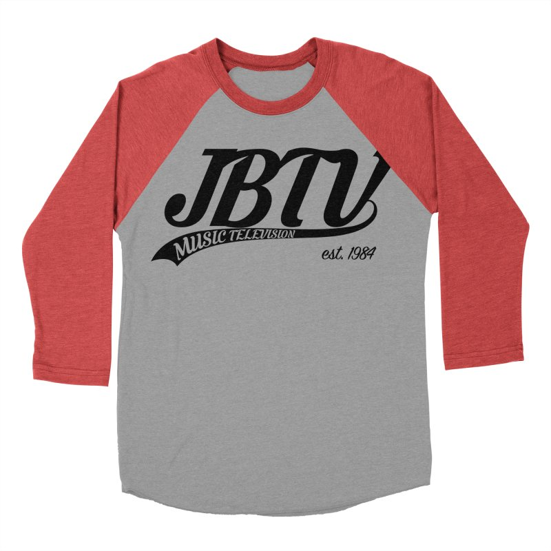 JBTV Retro Baseball Shirt Women's Baseball Triblend Longsleeve T-Shirt by JBTV