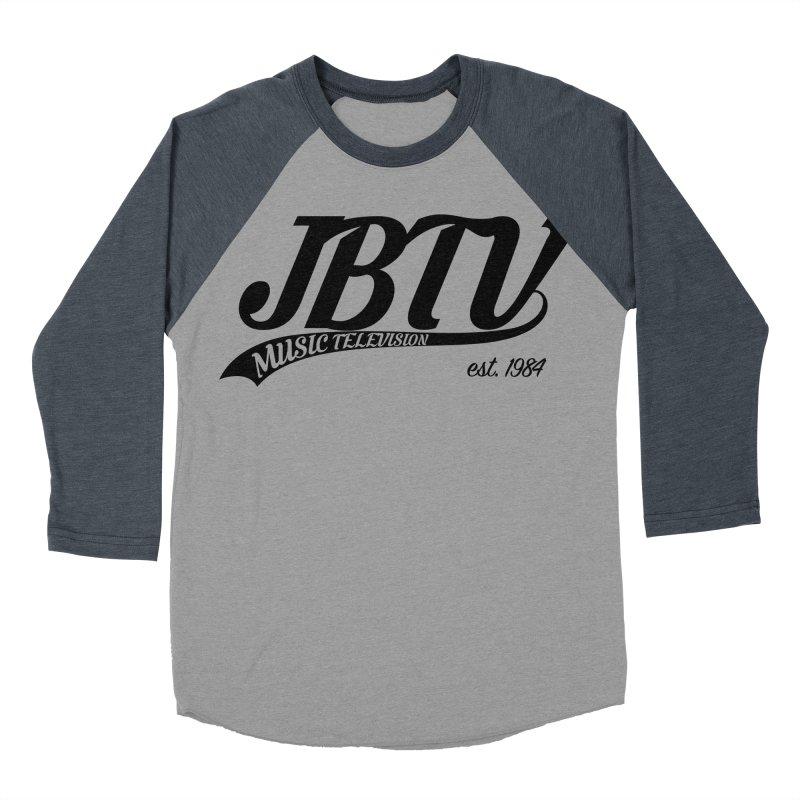 JBTV Retro Baseball Shirt Women's Baseball Triblend Longsleeve T-Shirt by JBTV