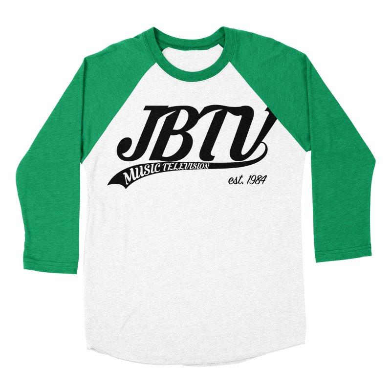 JBTV Retro Baseball Shirt Men's Baseball Triblend Longsleeve T-Shirt by JBTV