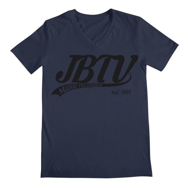 JBTV Retro Baseball Shirt Men's Regular V-Neck by JBTV