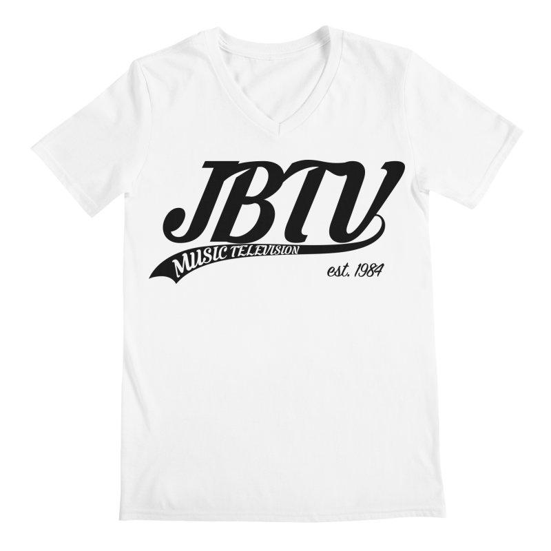 JBTV Retro Baseball Shirt Men's Regular V-Neck by JBTV's Artist Shop