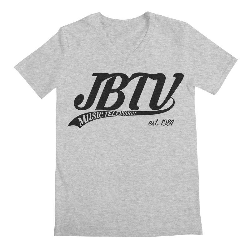 JBTV Retro Baseball Shirt Men's V-Neck by JBTV's Artist Shop