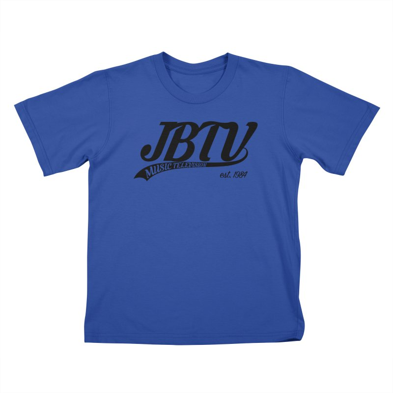 JBTV Retro Baseball Shirt Kids T-Shirt by JBTV's Artist Shop