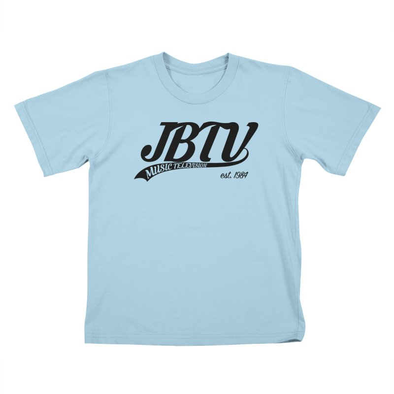 JBTV Retro Baseball Shirt Kids T-Shirt by JBTV