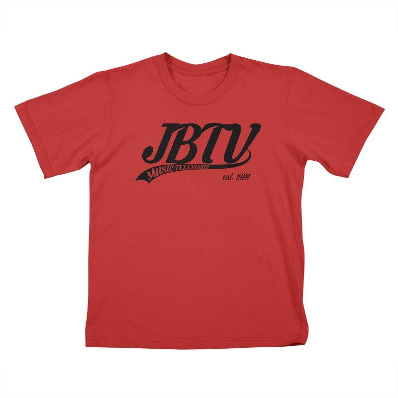 JBTV Retro Baseball Shirt Kids T-Shirt by JBTV