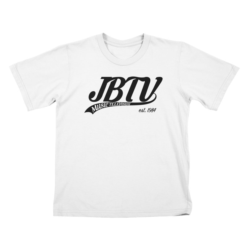 JBTV Retro Baseball Shirt Kids T-Shirt by JBTV's Artist Shop