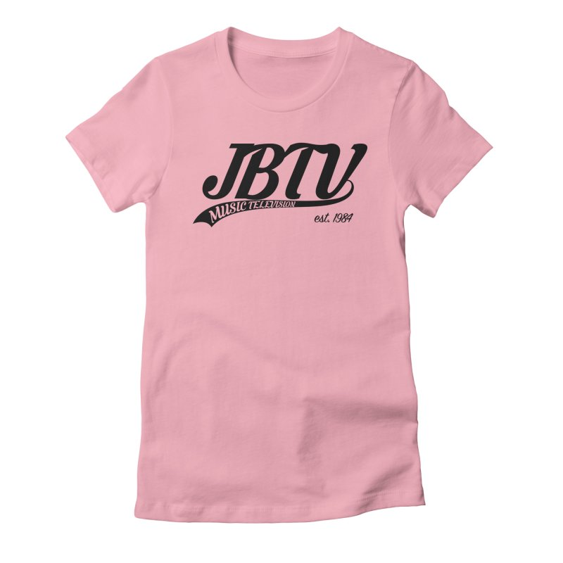JBTV Retro Baseball Shirt Women's Fitted T-Shirt by JBTV