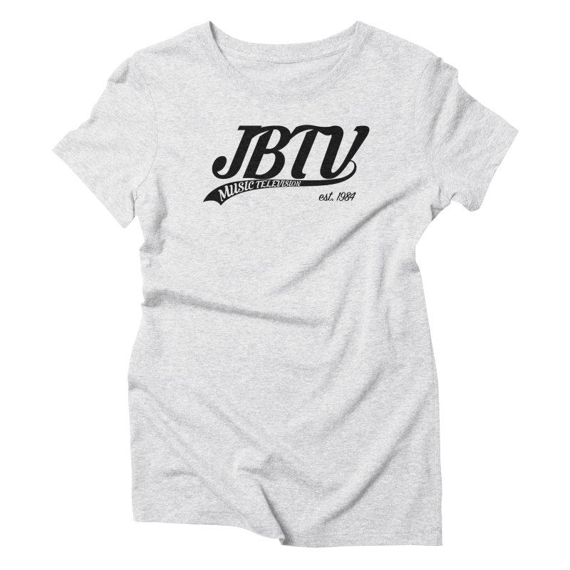 JBTV Retro Baseball Shirt Women's Triblend T-Shirt by JBTV's Artist Shop