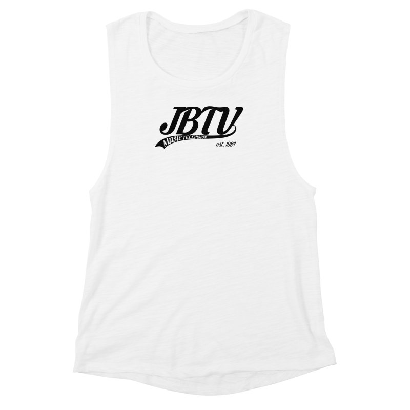 JBTV Retro Baseball Shirt Women's Muscle Tank by JBTV