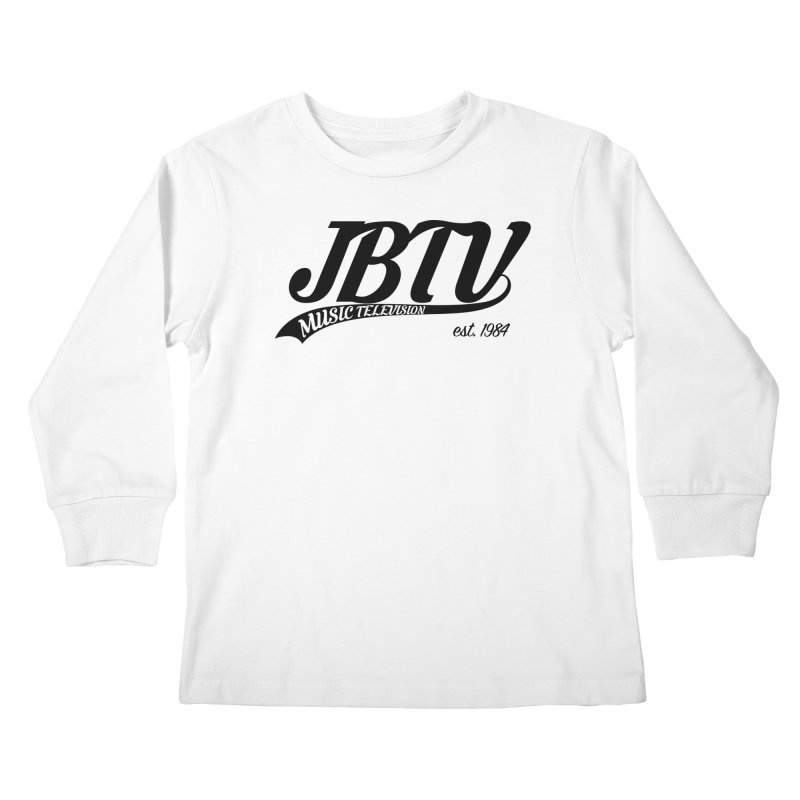 JBTV Retro Baseball Shirt Kids Longsleeve T-Shirt by JBTV