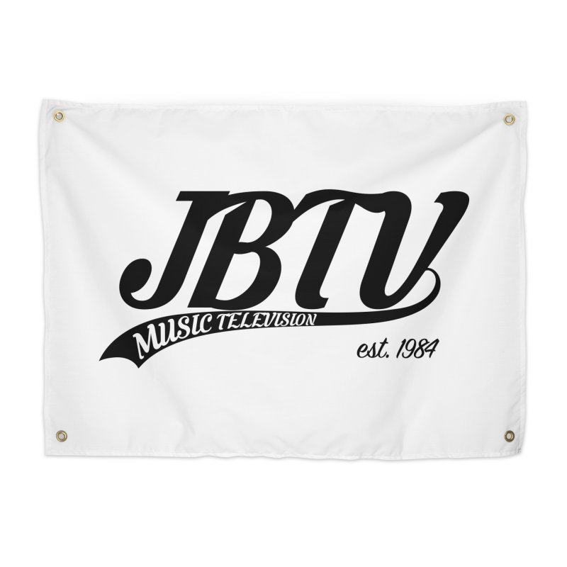 JBTV Retro Baseball Shirt Home Tapestry by JBTV's Artist Shop