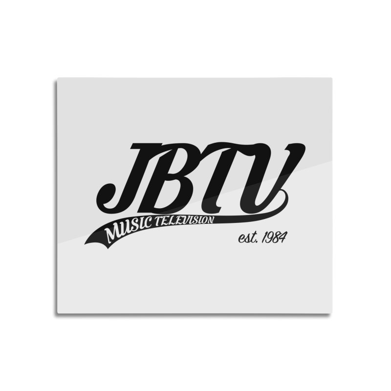 JBTV Retro Baseball Shirt Home Mounted Acrylic Print by JBTV's Artist Shop