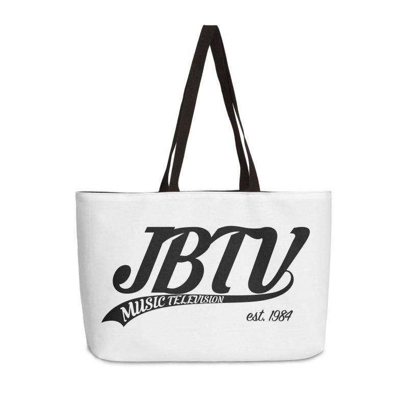 JBTV Retro Baseball Shirt Accessories Weekender Bag Bag by JBTV