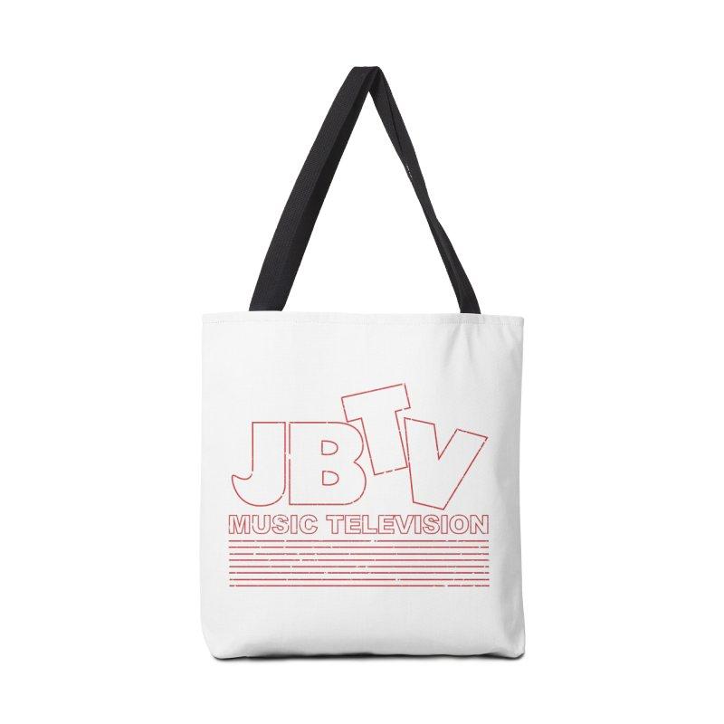 Edgy Design #2 (Red) Accessories Bag by JBTV's Artist Shop