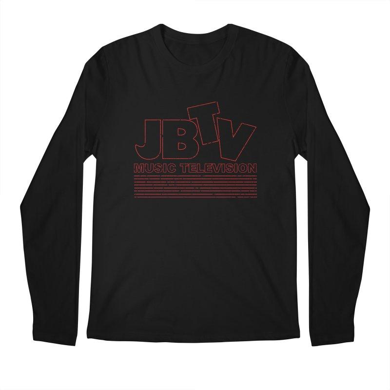 Edgy Design #2 (Red) Men's Regular Longsleeve T-Shirt by JBTV's Artist Shop