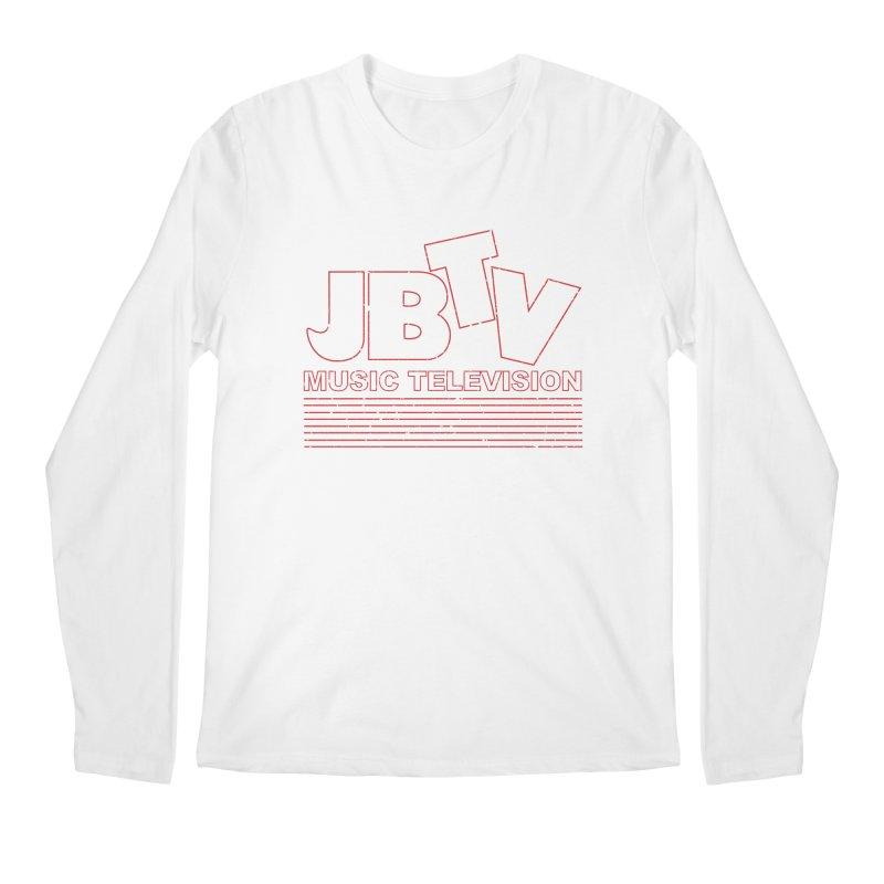 Edgy Design #2 (Red) Men's Regular Longsleeve T-Shirt by JBTV
