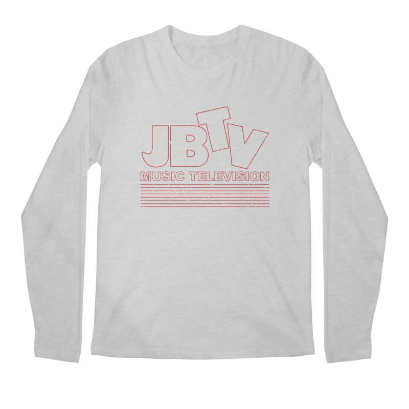 Edgy Design #2 (Red) Men's Regular Longsleeve T-Shirt by JBTV's Artist Shop