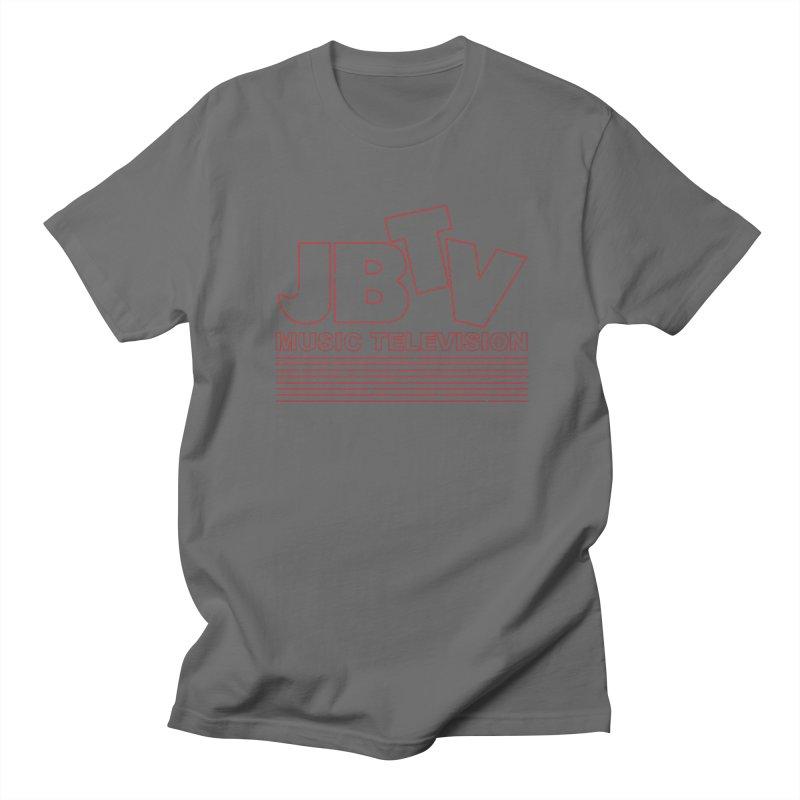 Edgy Design #2 (Red) Men's Regular T-Shirt by JBTV