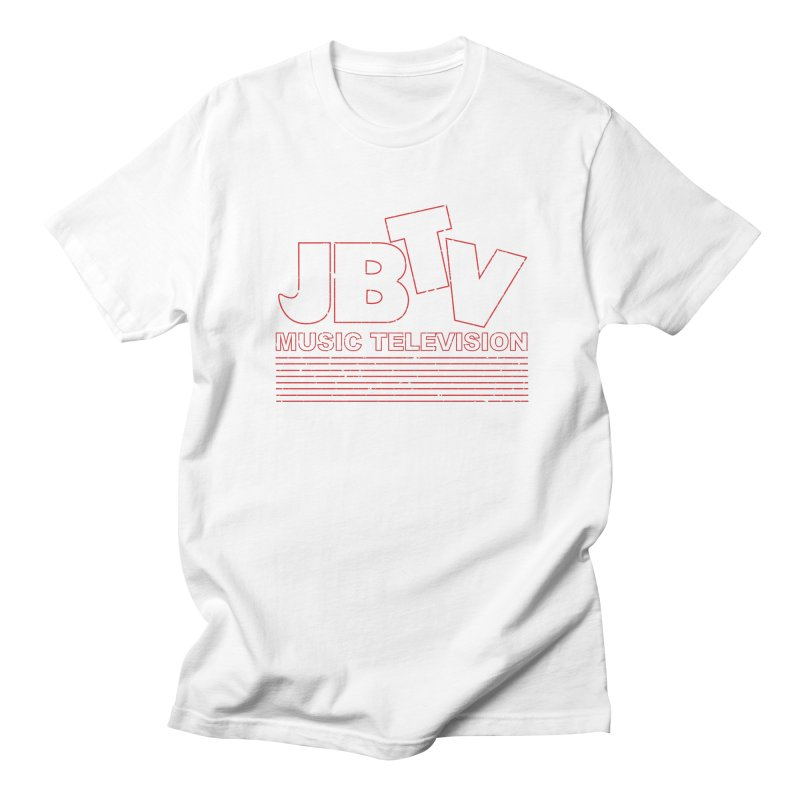 Edgy Design #2 (Red) Men's Regular T-Shirt by JBTV
