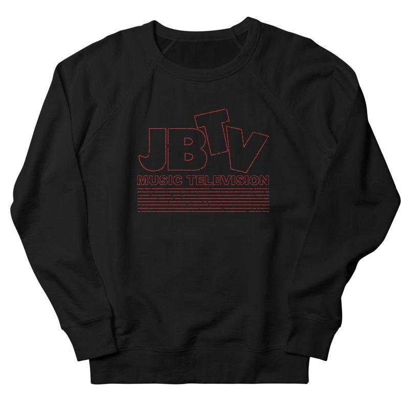 Edgy Design #2 (Red) Women's Sweatshirt by JBTV's Artist Shop