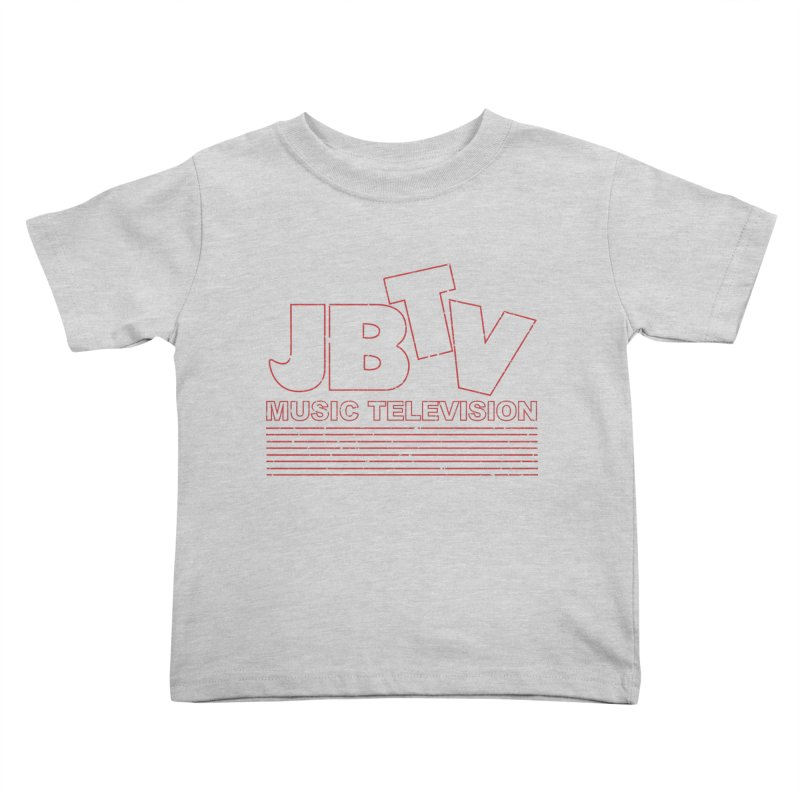 Edgy Design #2 (Red) Kids Toddler T-Shirt by JBTV