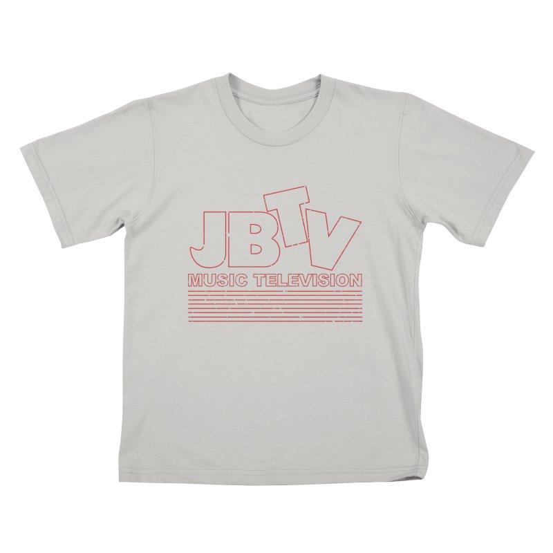 Edgy Design #2 (Red) Kids T-Shirt by JBTV's Artist Shop
