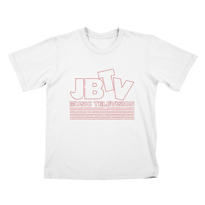 Edgy Design #2 (Red) Kids T-Shirt by JBTV's Artist Shop
