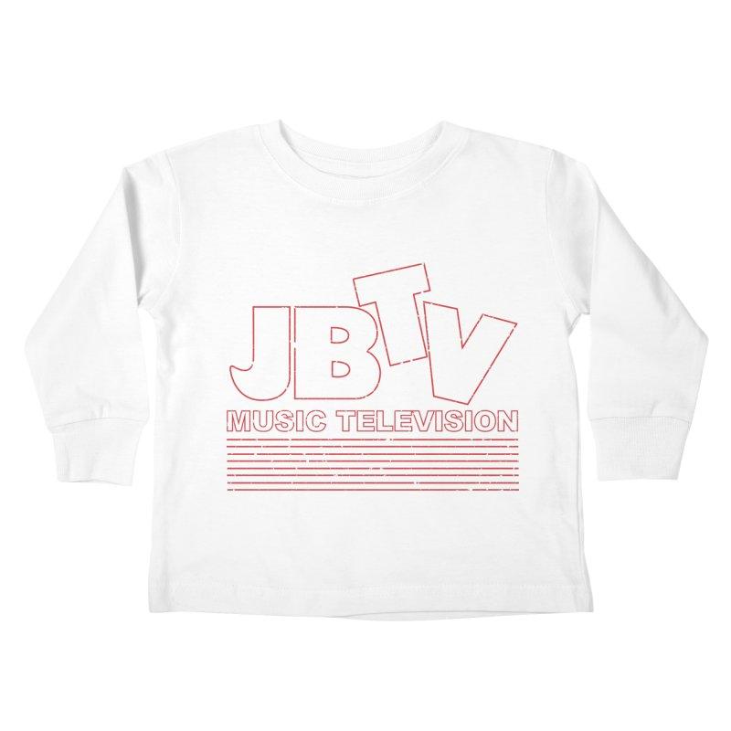 Edgy Design #2 (Red) Kids Toddler Longsleeve T-Shirt by JBTV