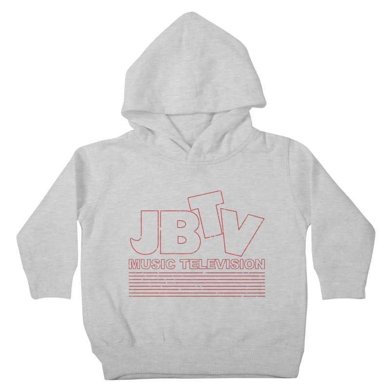 Edgy Design #2 (Red) Kids Toddler Pullover Hoody by JBTV's Artist Shop